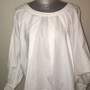 Free People, white blouse